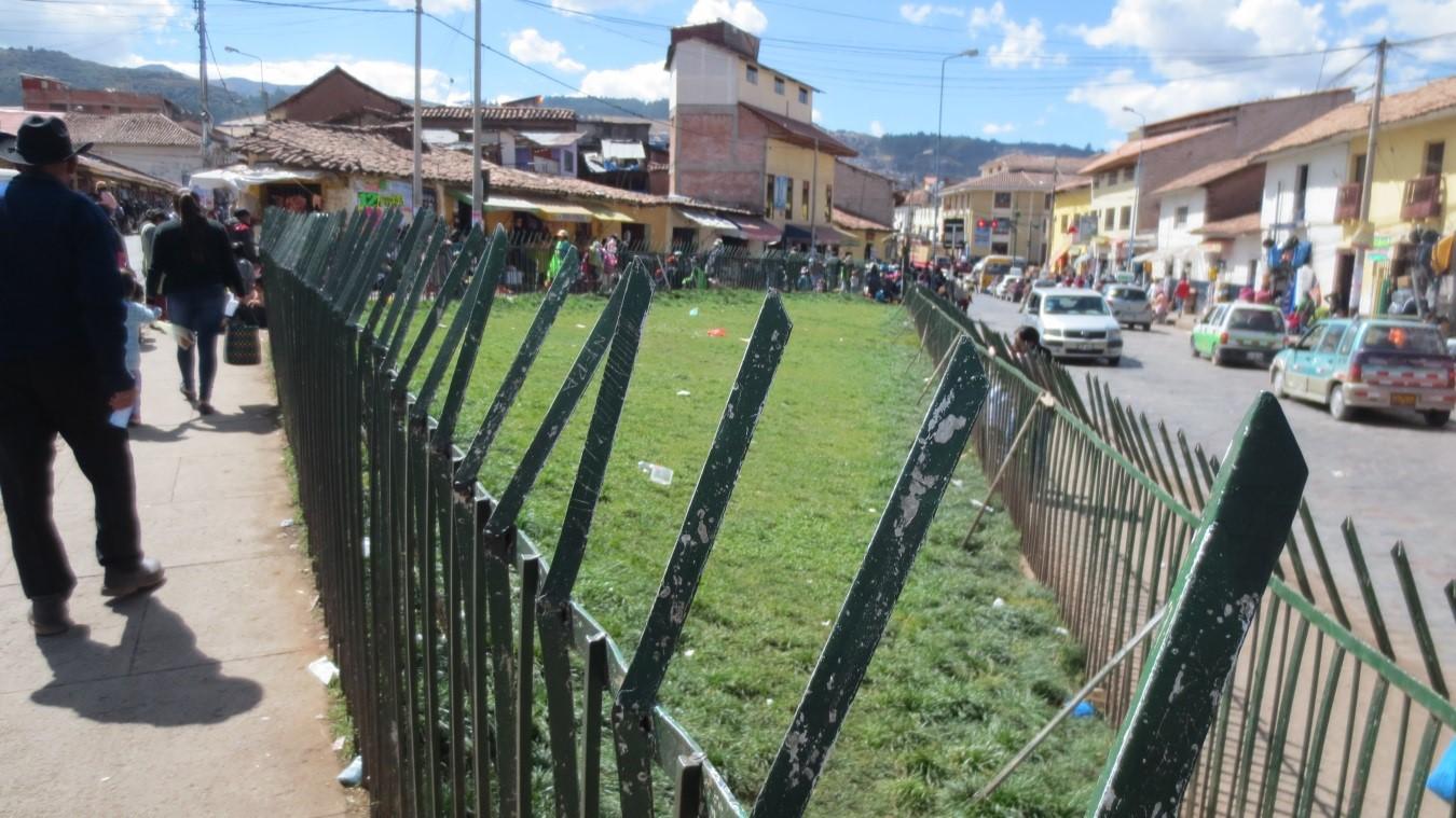 Escasez de áreas verdes en la ciudad del Cusco