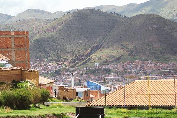 Recuperación carcava Vista Alegre (Fedetrac) - San Sebastián, Cusco