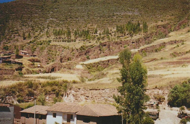 Relleno de carcavas con fines de areas verdes